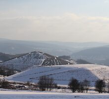The Ore Mountains Seen From The Distance by karina5