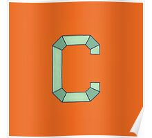 Uppercase C Poster