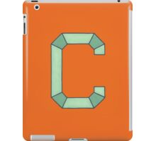 Uppercase C iPad Case/Skin