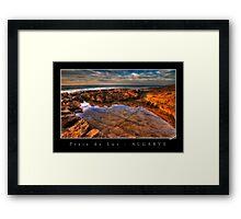 Rockpool HDR Framed Print