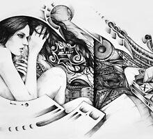 Graffiti Girl #5 by BPMs