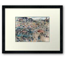 New Jersey Shore - Dangling Conversation - Long Beach Island Framed Print