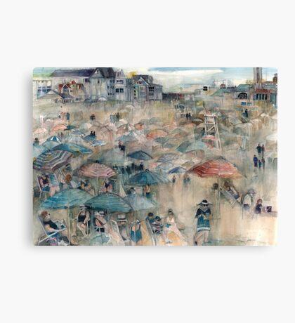 New Jersey Shore - Dangling Conversation - Long Beach Island Canvas Print
