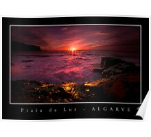 Praia da Luz Sunrise Poster