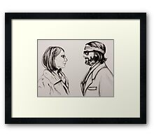 Margot and Richie Framed Print