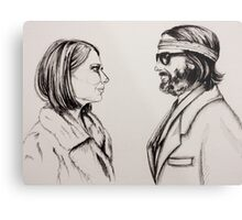 Margot and Richie Metal Print
