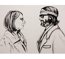 Margot and Richie Photographic Print