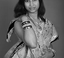 My Red Bindi... by Mukesh Srivastava