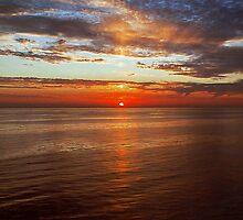 Sun Going Down. by tutulele
