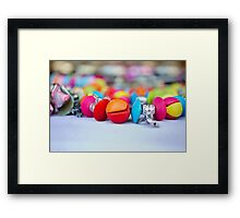 colorful Jewellery Framed Print