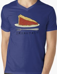 Pie for Breakfast Mens V-Neck T-Shirt