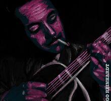 Django Reinhardt by Baska Wolna