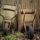 Wheelbarrows. by samsphotos12