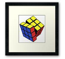 Rubik's cube stuff 3 Framed Print