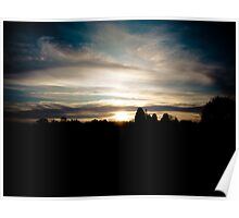 Sussex Sunset Poster