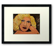 Vogue - PopArt Marilyn Framed Print
