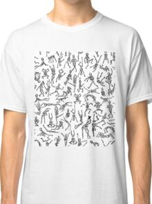 Spooky Scary Skeletons Classic T-Shirt