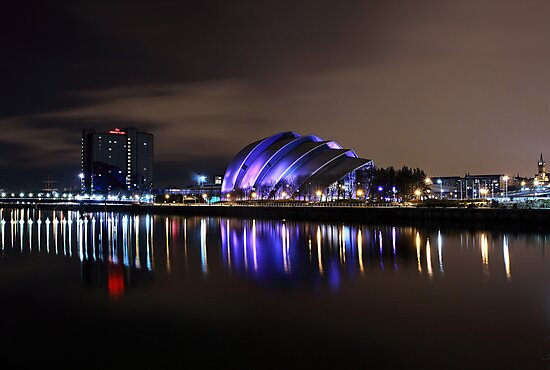 The Clyde auditorium by Grant Glendinning