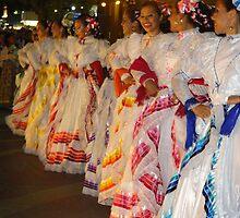 Traditional Coloured Costumes - Tradicional Trajes De Colores by Bernhard Matejka