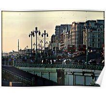 Downtown Brighton © Poster