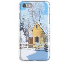 Landis Valley Tinshop winter phone case iPhone Case/Skin