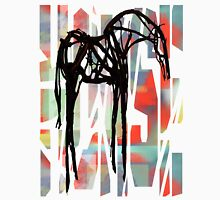 The Abstract Horse Unisex T-Shirt