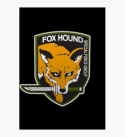Fox Hound Special Force Group Photographic Print