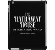 The Hathaway House (worn look) iPad Case/Skin
