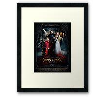 Crimson Peak Framed Print