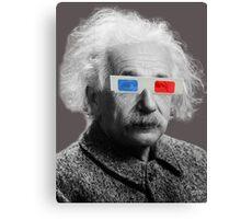 Einstein - 3D Canvas Print