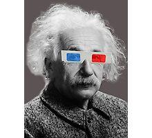 Einstein - 3D Photographic Print