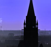 Peace Tower Sillouette by Vee Robillard