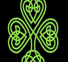 Celtic Shamrock by A1RB