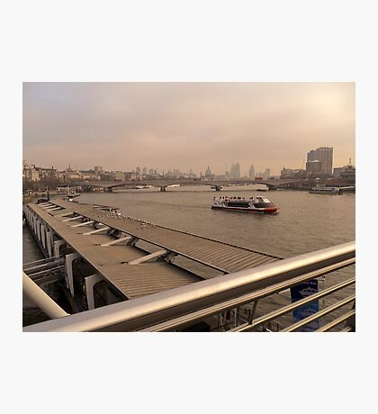 River Thames.. Photographic Print