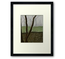 On a Gray Day Framed Print