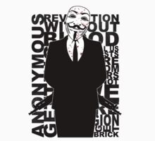 Anonymous revolution without blood ? 2 by Shobrick