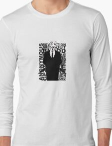 Anonymous revolution without blood ? 2 Long Sleeve T-Shirt