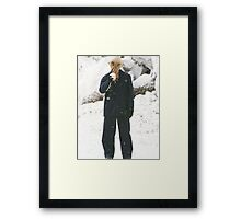Doctor who OOD Sigma  Framed Print