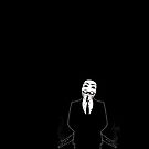 Anonymous revolution without blood ? by Shobrick
