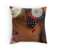 Victory Roll Throw Pillow
