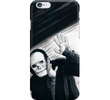 A Stupid Mask Is Not Going To Make You Invincible, Dude iPhone Case/Skin