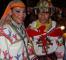 Traditional Huichol's Costume - Traje Huichol Tradicional by Bernhard Matejka