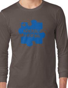 Normal Is Boring, Autism Awareness Long Sleeve T-Shirt