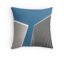 Office towers Throw Pillow