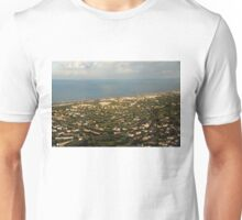Just Before Touch Down - Fiumicino, Rome, Italy Unisex T-Shirt