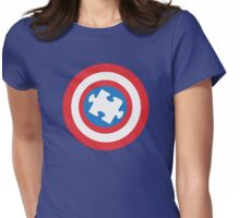 Captain Au-some Womens Fitted T-Shirt