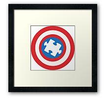 Captain Au-some Framed Print