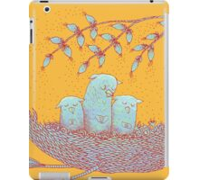 Sweet Dreams of the Owl Pups on their Night Journey iPad Case/Skin