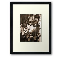 A Soldiers View. Framed Print