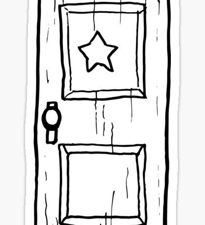 Scott Pilgrim vs The World // Subspace Door Sticker